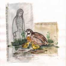 Mayrikin yazma berin  /  A shawl for mother