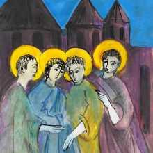Qristos i mej mer haytnetsav / Christ among us