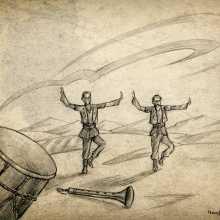 Drum looms